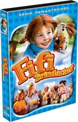 Fifi Brindacier, intégrale en coffret DVD
