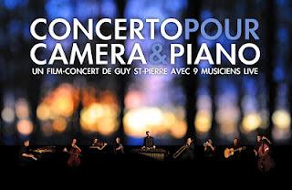 Concerto pour caméra et piano - Guy St-Pierre à la caméra, au piano et à la composition