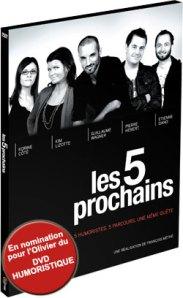 DVD Les 5 prochains