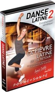 Collection Forme et Santé sur DVD Imavision : BALLET PILATES et DANSE LATINE 2.