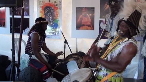 Agorafrique : percussions