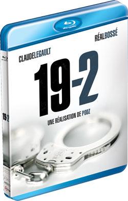 Coffret Blu-Ray de la série policière québécoise 19-2