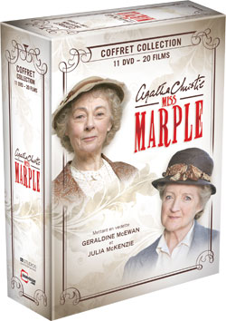 Coffrets imavision wallander et miss marple montreal157 for Miss marple le miroir se brisa