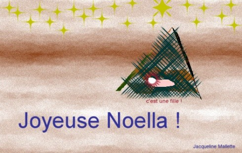 Joyeux Noel / Joiyeuse Noella !