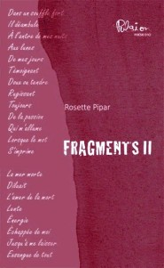 Fragments II, poésie
