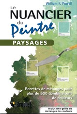 Le nuancier du peintre – Paysages,  Auteur : William F. Powel,  Broquet Éditeur