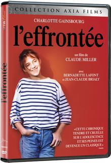L'EFFRONTÉE en DVD