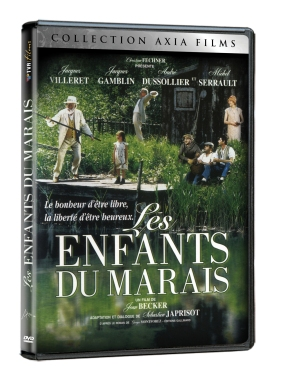 DVD Les Enfants du maraisun film de Jean Becker avec Jacques Villeret, Michel Serrault, Jacques Gambli, André Dussollier et Isabelle Carré