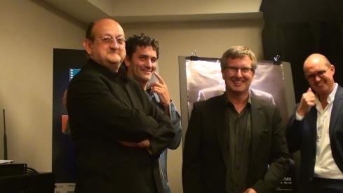 LE VERDICT, conférence de presse au Festival des films du monde