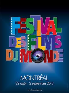 FFM Festival des films du monde de Montréal 2013, affiche, poster