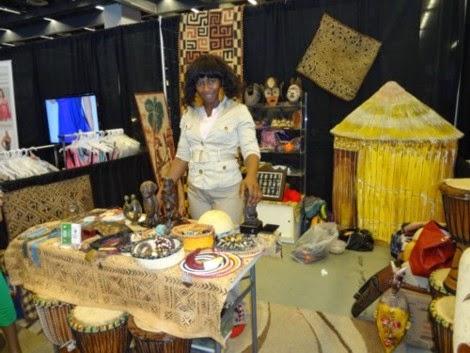 Tapa Diarra au Salon national de la femme en fin de semaine, au Palais des Congrès de Montréal