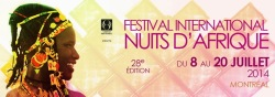 Festival International Nuits d'Afrique 2014 CD Compilation