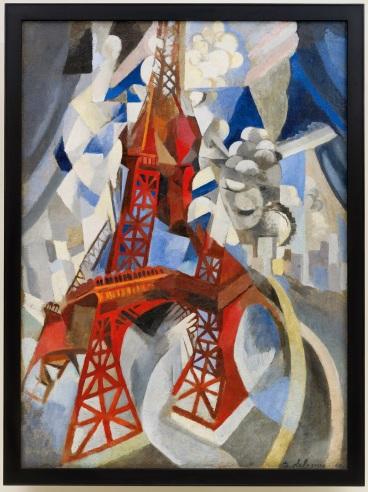 Robert Delaunay (1885-1941) La Tour rouge, 1911-1912 New York, Solomon R. Guggenheim Museum, S.R. Guggenheim Museum Founding Collection