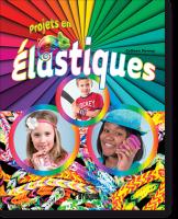 Projets en élastiques aux éditions Broquet