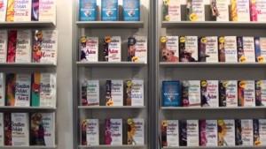 Les livres de la série «bouillon de poulet» au stand de Béliveau éditeur