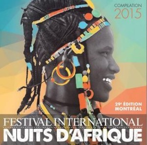 CD Compilation Nuits d'Afrique 2015