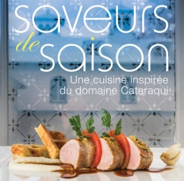 Saveurs de saison : une cuisine inspirée du domaine Cataraqui est un ouvrage pour fins gourmets proposé par 12 chefs de l'École hôtelière de la Capitale et est co-publié par les Éditions Sylvain Harvey et la Commission de la Capitale nationale.