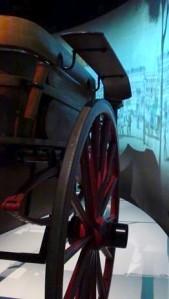 DES CHEVAUX ET DES HOMMES, exposition à la Maison des Marins de Pointe-à-Callière, cité d'archéologie et d'histoire de Montréal Photo Jacqueline Mallette